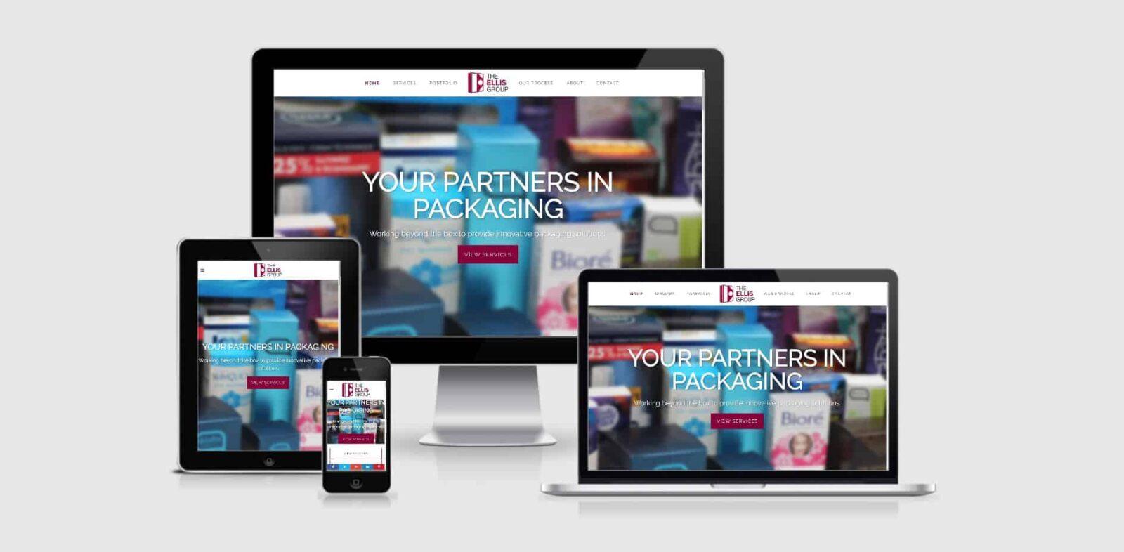 ellis website launch
