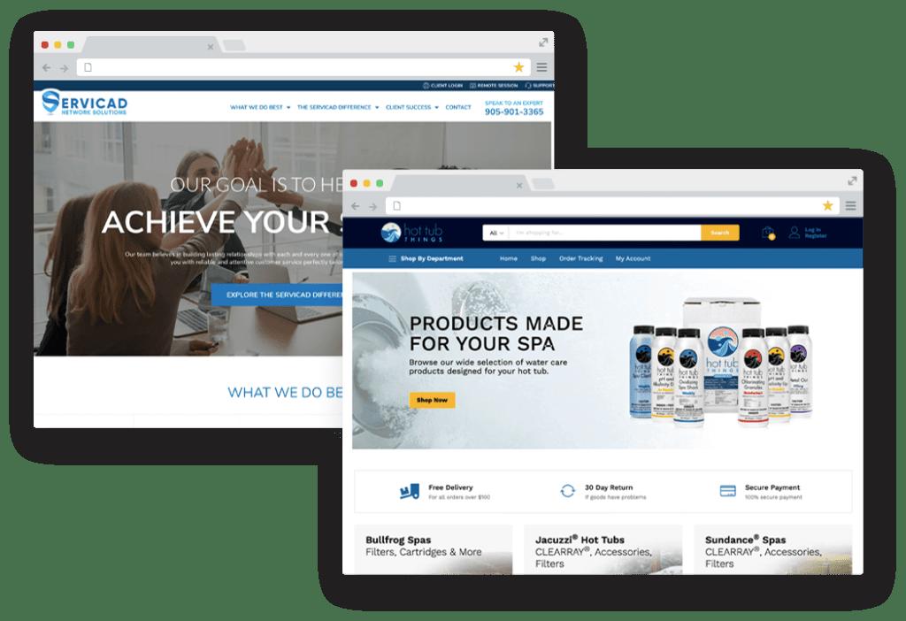 professional services websites
